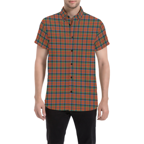 Tartan Shirt - MacNaughton Ancient | Exclusive Over 500 Tartans | Special Custom Design