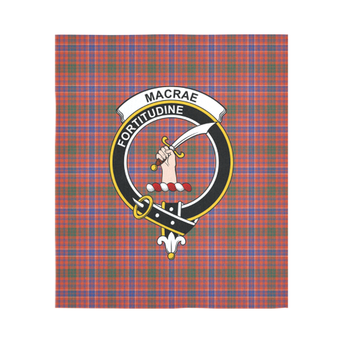Macrae Ancient Tartan Tapestry Clan Crest