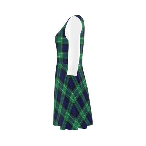 Abercrombie Tartan 3/4 Sleeve Sundress | Exclusive Over 500 Clans