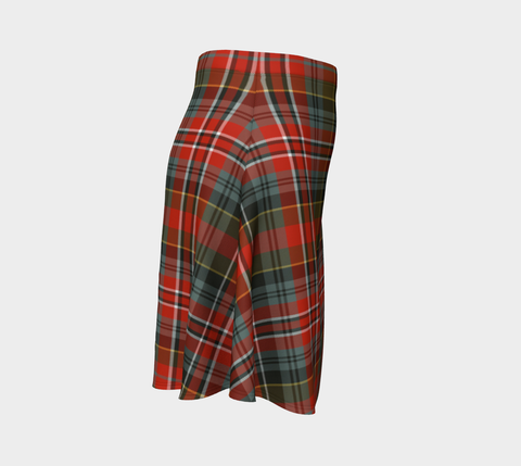 Tartan Flared Skirt - MacPherson Weathered |Over 500 Tartans | Special Custom Design | Love Scotland