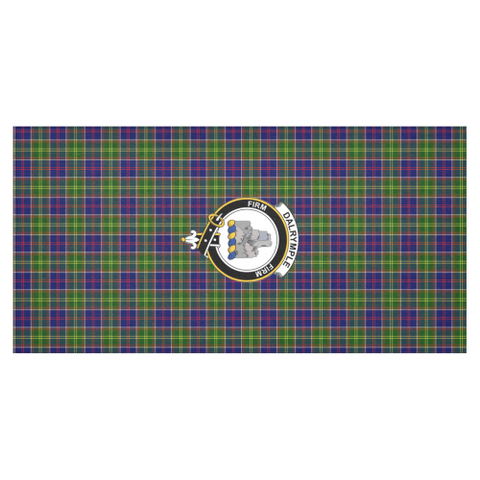 Dalrymple Crest Tartan Tablecloth | Home Decor