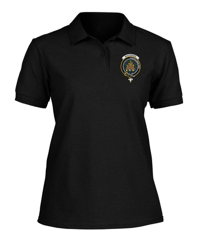 Polo T-Shirt - MacKenzie Tartan Polo T-shirt for Men and Women