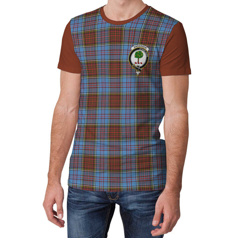 Tartan T-Shirt - Clan Anderson Plaid T-Shirt For Men And Women