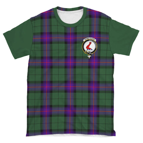 Image of Tartan T-Shirt - Clan Armstrong Plaid T-Shirt For Men And Women