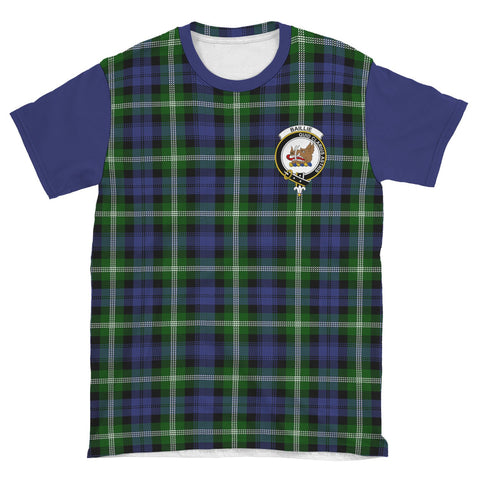 Image of Tartan T-Shirt - Clan Baillie Plaid T-Shirt For Men And Women