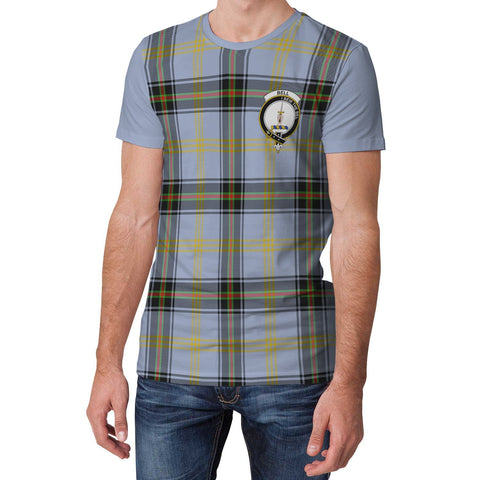 Image of Tartan T-Shirt - Clan Bell Plaid T-Shirt For Men And Women