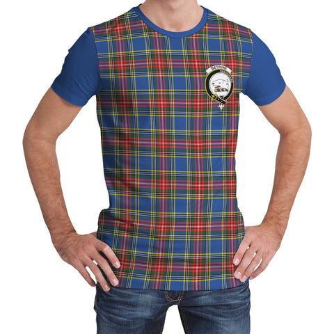 Tartan T-Shirt - Clan Bethune Plaid T-Shirt For Men And Women
