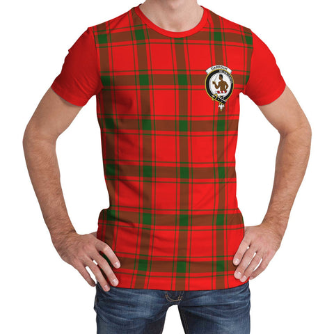 Tartan T-Shirt - Clan Darroch (Gourock) Plaid T-Shirt For Men And Women