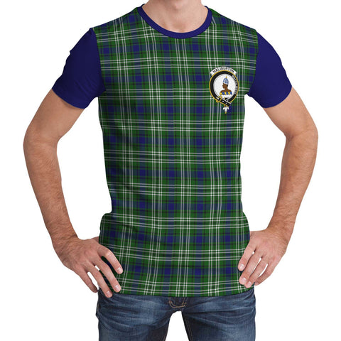Tartan T-Shirt - Clan Haliburton Plaid T-Shirt For Men And Women