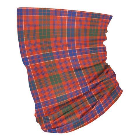 Scottish MacRae Ancient Tartan Neck Gaiter  (USA Shipping Line)