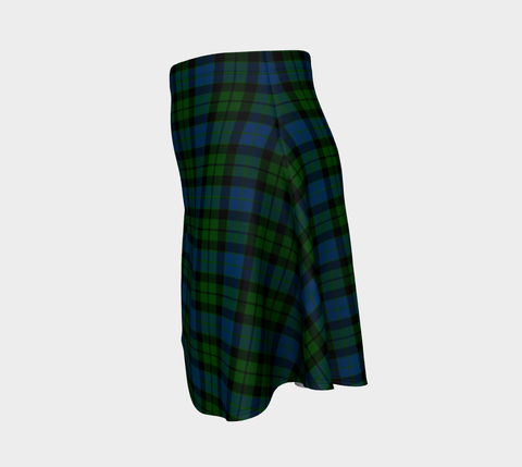 Tartan Flared Skirt - MacKay Modern |Over 500 Tartans | Special Custom Design | Love Scotland