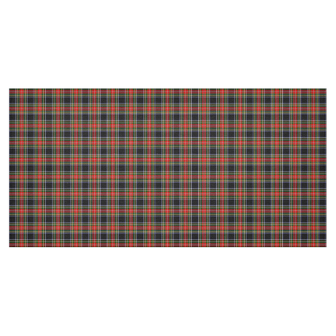 Image of Stewart Black Tartan Tablecloth | Home Decor