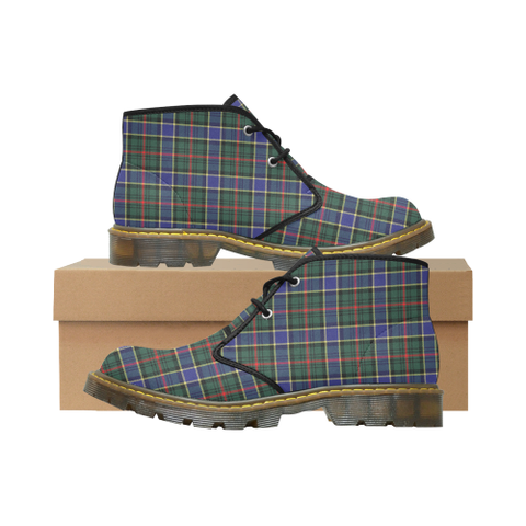 Ogilvie Hunting Modern Tartan Chukka Boot | Over 500 Tartans | Special Custom Design | Love Scotland