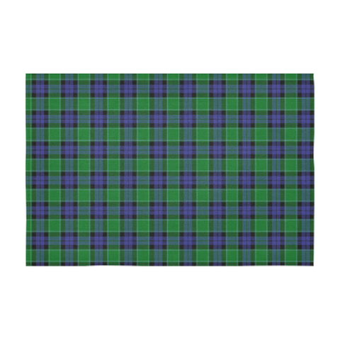 Image of Graham of Menteith Modern Tartan Tablecloth | Home Decor