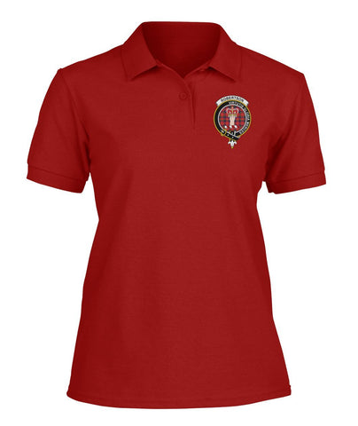Polo T-Shirt - Robertson Tartan Polo T-shirt for Men and Women