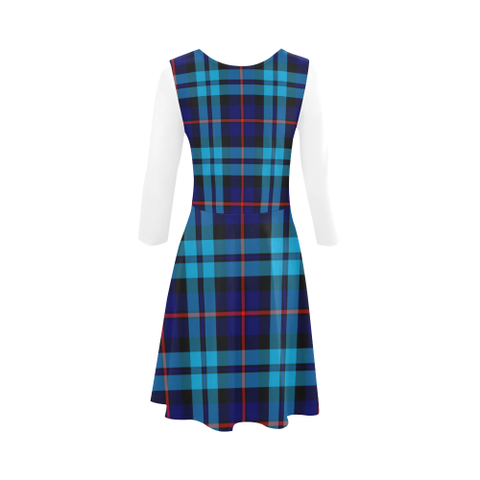 McCorquodale Tartan 3/4 Sleeve Sundress | Exclusive Over 500 Clans