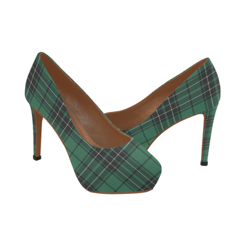Image of Maclean Hunting Ancient Tartan High Heels, Maclean Hunting Ancient Tartan Low Heels