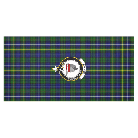 MacNeill of Barra Crest Tartan Tablecloth | Home Decor