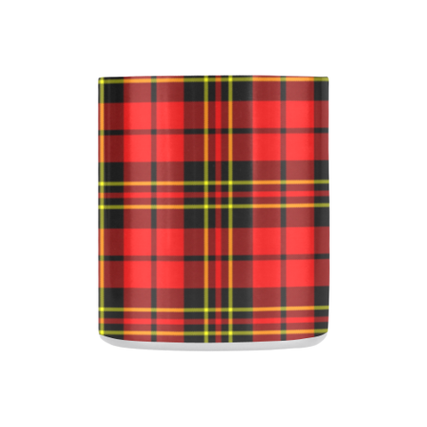 ScottishShop Insulated Mug - Brodie Modern Tartan Insulated Mug - Clan Badge