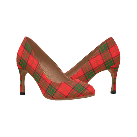 Image of Maxwell Modern Plaid Heels