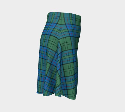 Image of Tartan Flared Skirt - Lockhart |Over 500 Tartans | Special Custom Design | Love Scotland