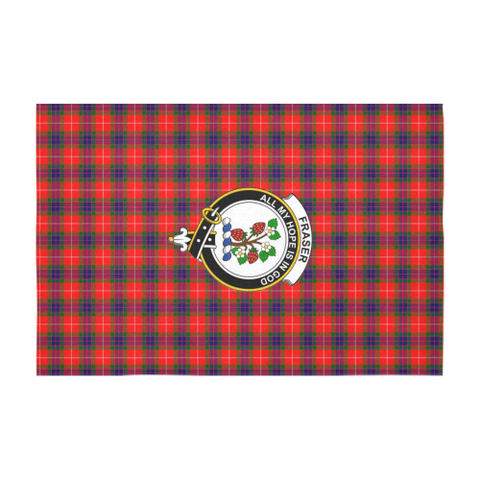 Fraser Crest Tartan Tablecloth | Home Decor