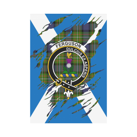 ScottishShop Garden Flag - Tartan Ferguson Lives In Me Flag