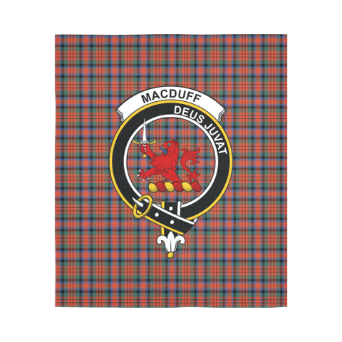 Image of Macduff Ancient Tartan Tapestry Clan Crest