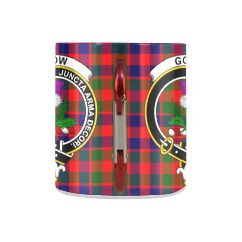 Insulated Mug - Gow Of SkeochTartan Insulated Mug - Clan Badge