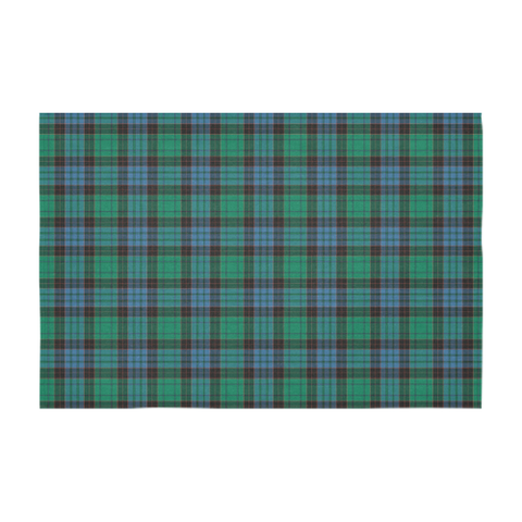 Image of Stewart Old Ancient Tartan Tablecloth | Home Decor