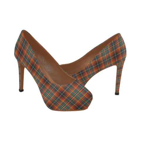 Image of Innes Ancient Tartan High Heels, Innes Ancient Tartan Low Heels