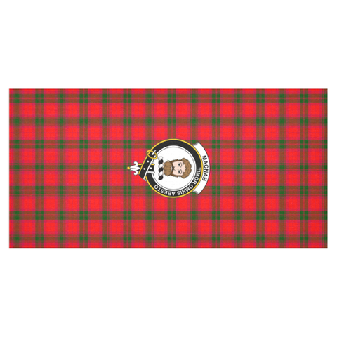 MacNab Crest Tartan Tablecloth | Home Decor