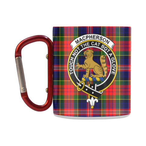 ScottishShop Insulated Mug - Macpherson ModernTartan Insulated Mug - Clan Badge