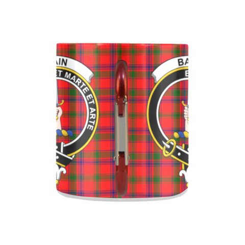 ScottishShop Insulated Mug - Bain Tartan Insulated Mug - Clan Badge