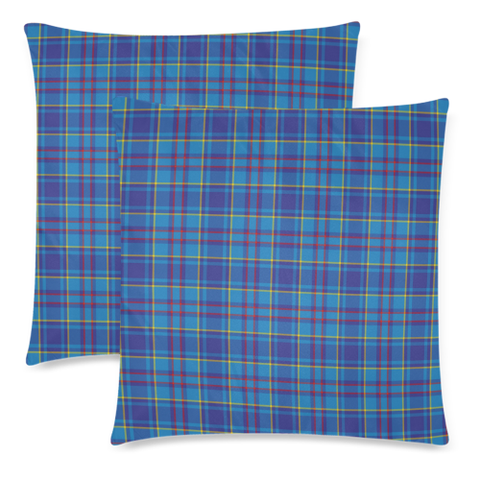 Image of Mercer Modern decorative pillow covers, Mercer Modern tartan cushion covers, Mercer Modern plaid pillow covers
