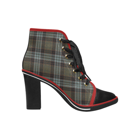 Tartan Heel - Stewart Old Weathered | Hot Sale | Online Orders Only | 500 Tartans