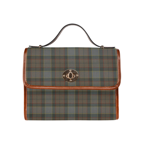 Image of Outlander Fraser Tartan Canvas Bag | Special Custom Design
