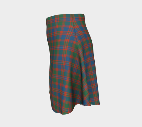 Tartan Flared Skirt - MacIntyre Ancient |Over 500 Tartans | Special Custom Design | Love Scotland