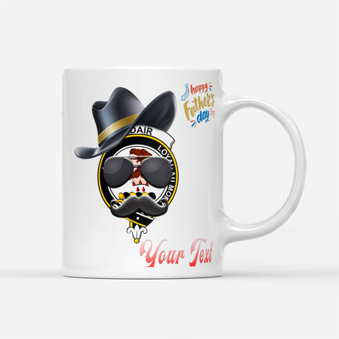 Father Day Tartan Mug - Adair Badge Custom Mug