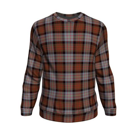 Tartan Sweatshirt - Clan Cameron of Erracht Weathered Sweatshirt For Men & Women