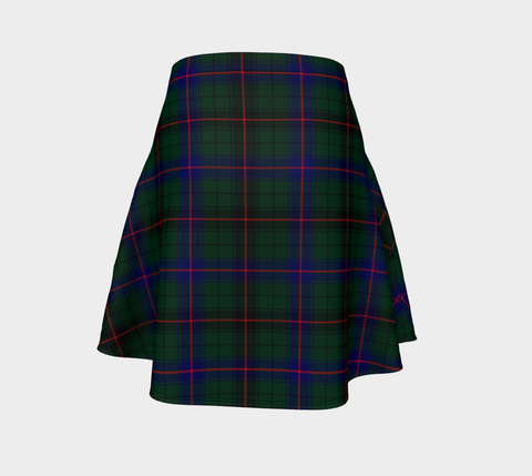 Image of Tartan Flared Skirt - Davidson Modern |Over 500 Tartans | Special Custom Design | Love Scotland