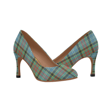 Paisley District Plaid Heels