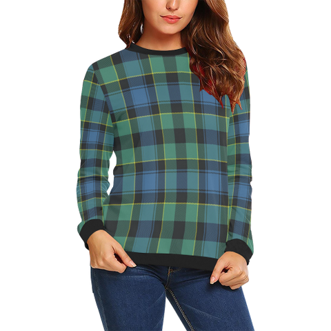 Image of Mouat Tartan Crewneck Sweatshirt