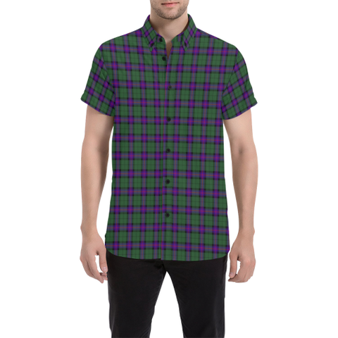 Tartan Shirt - Armstrong Modern | Exclusive Over 500 Tartans | Special Custom Design