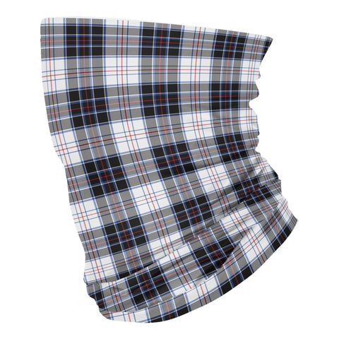 Scottish MacRae Dress Modern Tartan Neck Gaiter  (USA Shipping Line)