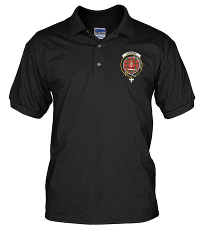 Polo T-Shirt - Erskine Tartan Polo T-shirt for Men and Women