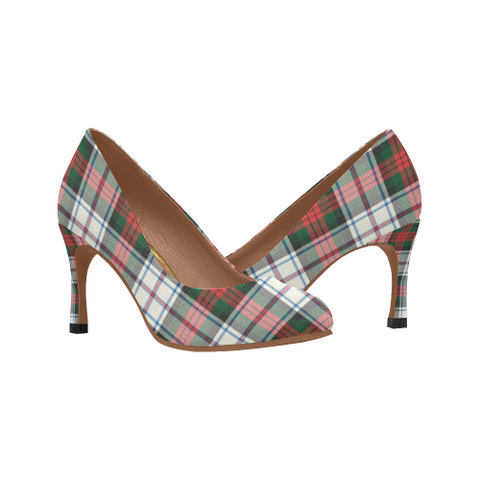 Image of Macduff Dress Modern Plaid Heels