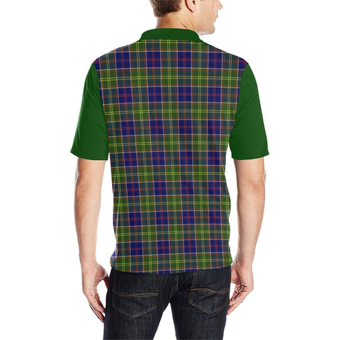 Image of Tartan Polo - Whiteford Plaid Mens Polo Shirt - Clan Crest
