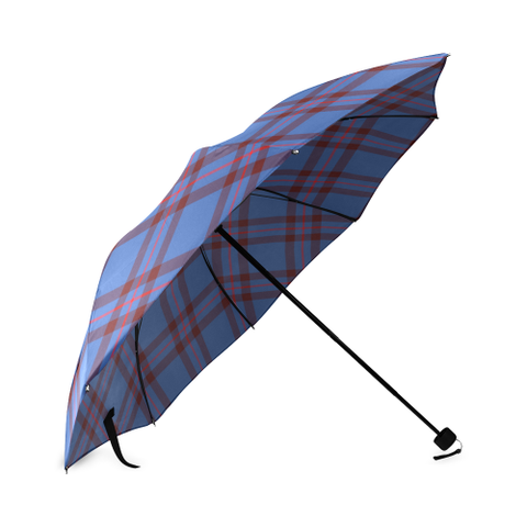 Image of Elliot Modern Crest Tartan Umbrella