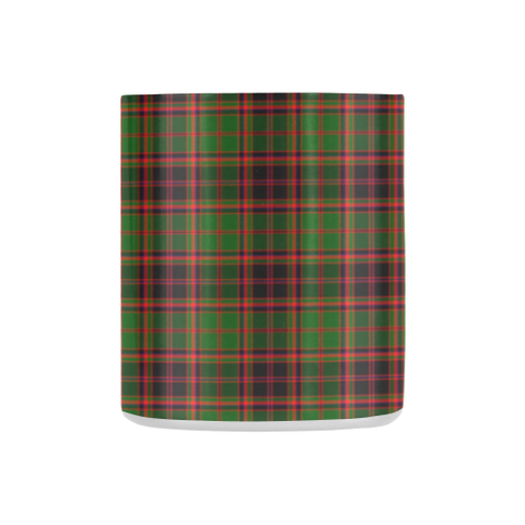 ScottishShop Insulated Mug - Buchan Modern Tartan Insulated Mug - Clan Badge